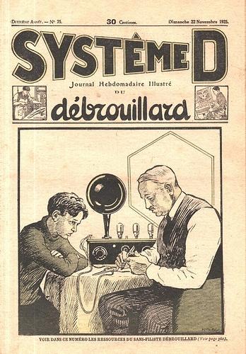 Système D n°75. 22 nov. 1925. (R)