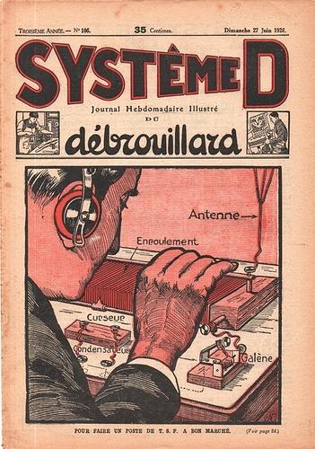 Système D n°106. 27 juin 1926.    (R1)