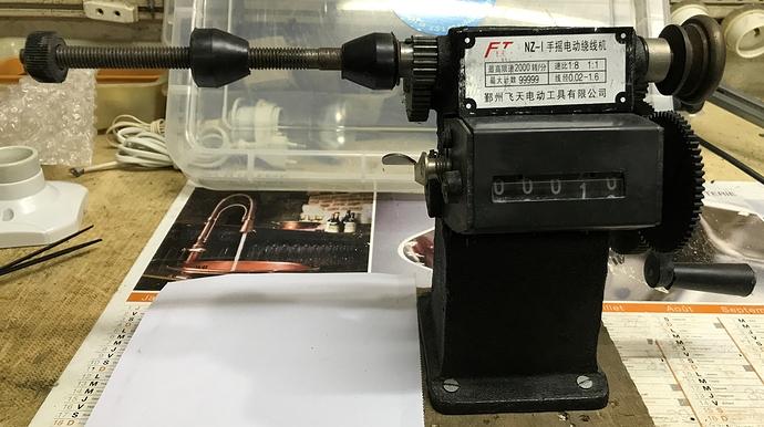 Machine à bobiner manuelle 3,2 kg