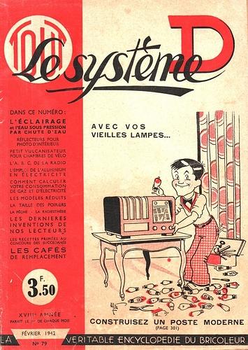 TOUT Le système D n°79. Fév.1942.     (R)