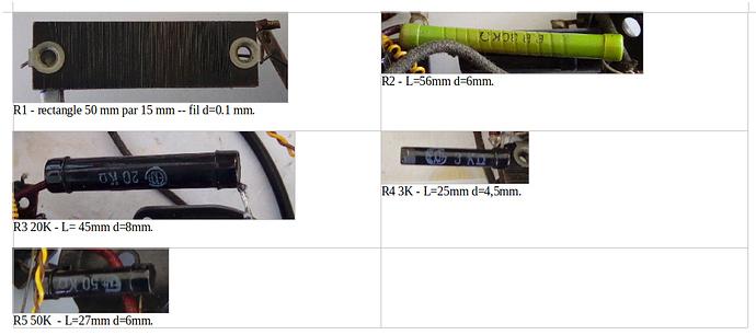 resistors puissances x