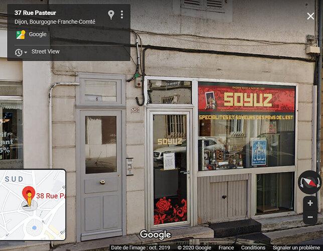 38 rue Pasteur