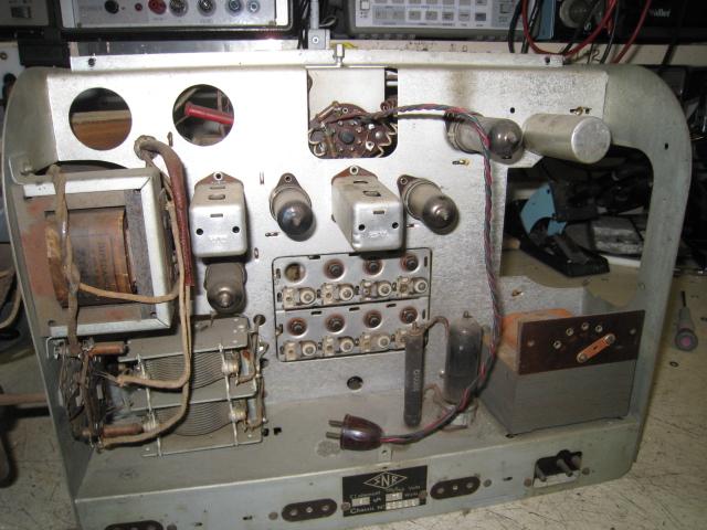 snr et rex radio - technique