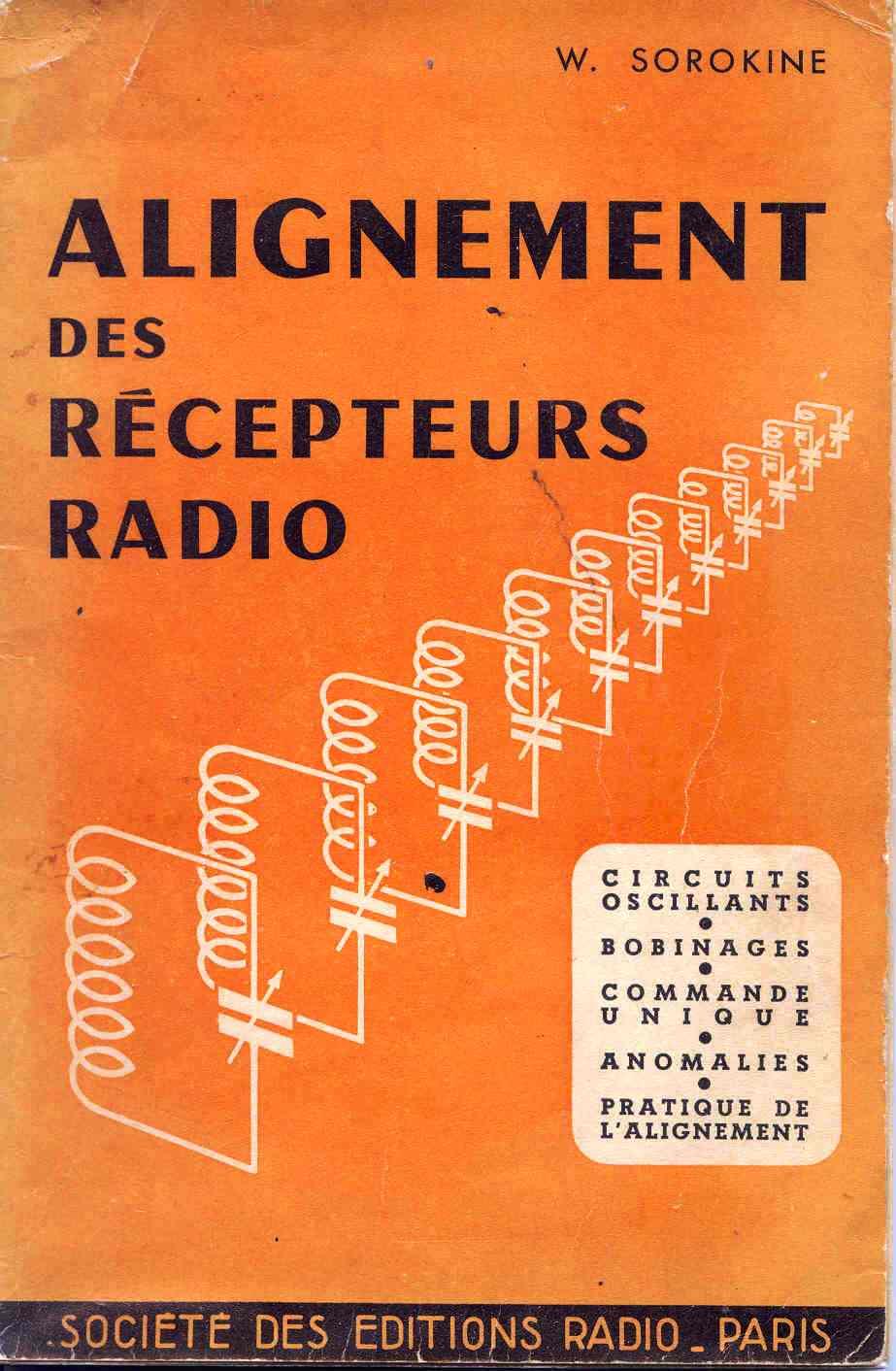 Alignement des récepteurs radio SOROKINE
