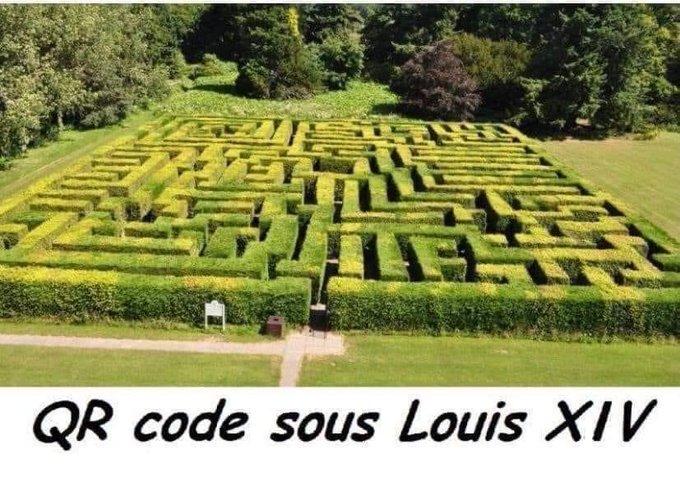 QR Code sous Louis XIV