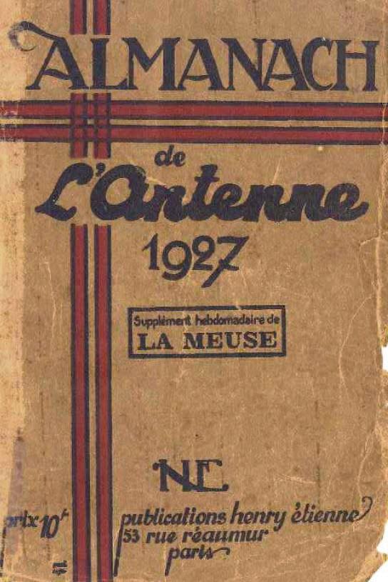 Almanach de l'antenne 1927