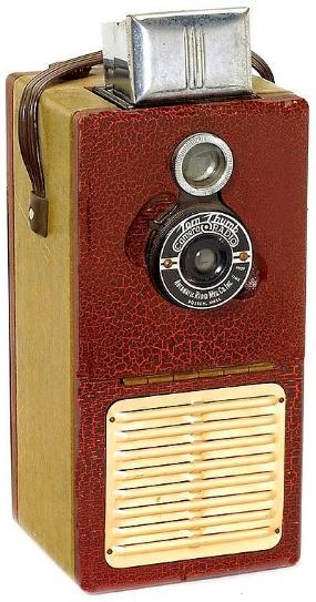 Tom Thumb Camera Radio 1948
